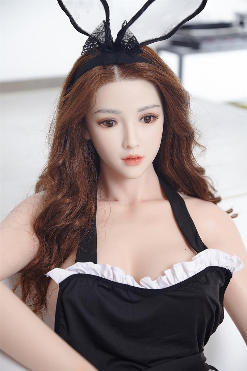 BB Doll ラブドール 165cm普通乳 #Eヘッド 血管&人肌模様など超リアルメイク無料 眉の植毛無料 フルシリコン製