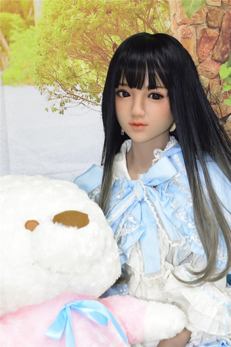 Sanhui Doll ラブドール 145cm Aカップ Mei お口開閉可能 フルシリコン製