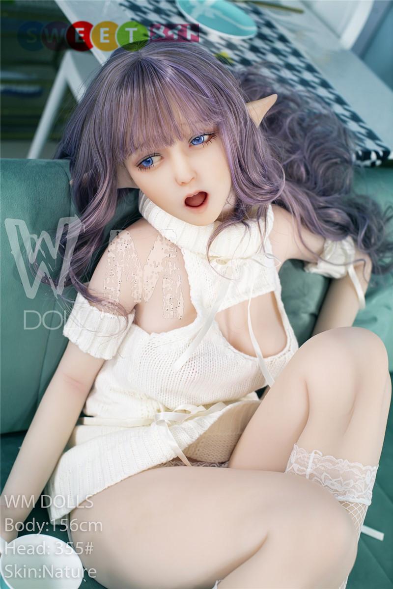 WM Doll ラブドール 156cm B-cup #355 ELF ears TPE製