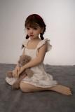 AXB Doll ラブドール110cm バスト平 A169 掲載画像はリアルメイク付き TPE製