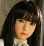 My Loli Waifu 略称MLWロり系ラブドール 150cm Dカップ 明莉 akari 頭部 TPE材質ボディー ヘッド材質選択可能 メイク選択可能
