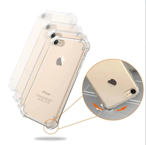 ShockProof Soft TPU Clear Transparent Protective Silicon Case Cover for iPhone X 11 11Pro 7 8 Plus