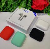 i12 TWS Bluetooth 5.0 Wireless headset Earbuds
