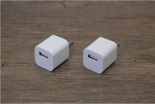 [RECOMMEND] 5V 1A USB Wall Charger Adapter for iPhone White Square block