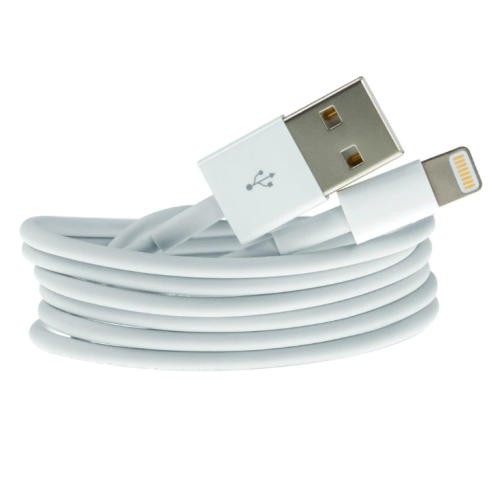3ft iPhone PVC usb data cable charger 1A