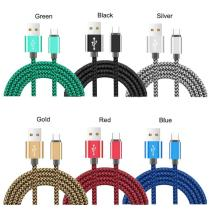 10ft 2.4A  Fast charging Hemp braided Cable