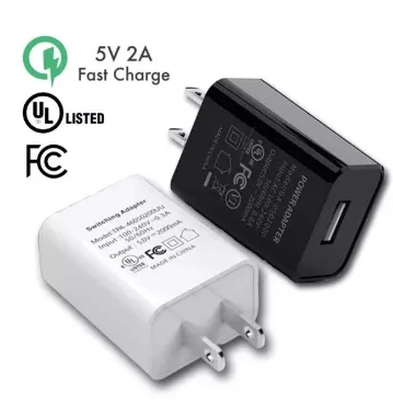 [RECOMMEND] 2A 5V UL FCC Certified Universal USB Wall Adapter Fast Charger