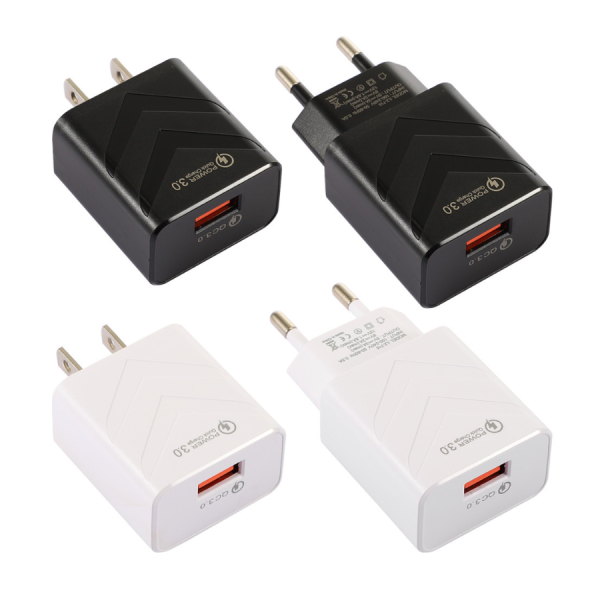 [RECOMMEND] Single and 2-Port Fast Charger with REAL 20W PD + QC3.0 Wall Charger Power Adapter
