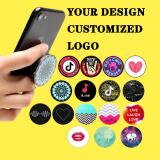 Plain Transparent Phone Holder Grip Customized Promotional HIGH QUALITY