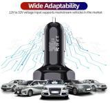 7A 4 USB Port Fast Car Charger QC 3.0