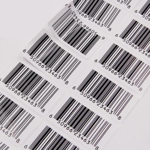 UPC code FBA ENA-13 code Barcode Sticker Customized Packing