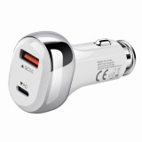 PD 20W and QC 3.0 USB port  Car Charger Adapter
