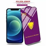Golden Armor Screen Protector Tempered Glass Premium For Latest iPhone Samsung