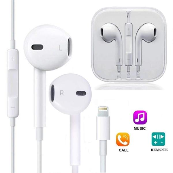 Lightning Pin Earbuds for Iphone Call Music