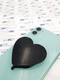 2ND Swappable Blank Sublimation Phone Holders Heart-Shaped Collapsible Phone Grip Holder Phone Stand Brackets with Double-Sided Tape for Phones and Tablets