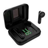 SMS-T13 Large capacity 6D Sound Effects Earphone,Power Display Bluetooth 5.0 Wireless Eearbuds Headphones