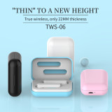 360-degree Surround Sound Earphone,5.0 Automatic Boot Pairing Earbuds,True Wireless Colourful Small Body Headphones