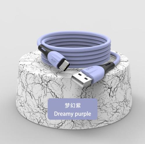 2A TPE Material  High Quality new style  V8, Type-c phone cable (charging and data transfer) - 3ft