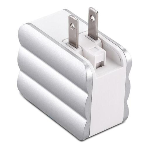 Suitcase shape USB Wall Charger,Dual Port Cube Plug Power Charging Adapter 5V3A