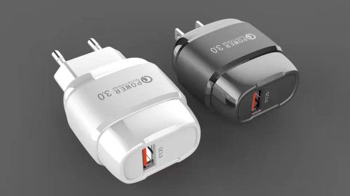 2.4A Elegance USB Wall Charger,QC 3.0 Private Model Single Port Fast Charging Adapter