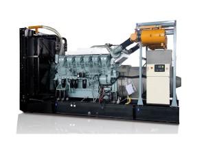 50Hz 2250 kVA Mitsubishi Open Type Diesel Generator Sets