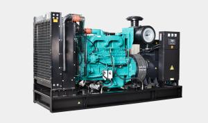 50Hz 388 kVA Cummins Powered Open Type Diesel Generator Sets