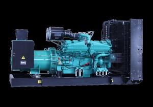 50Hz 1100 kVA Cummins Powered Open Type Diesel Generator Sets