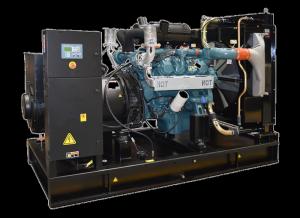 50Hz 688 kVA Doosan Powered Open Type Diesel Generator Sets