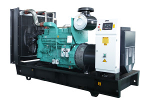50Hz 550 kVA Cummins Powered Open Type Diesel Generator Sets