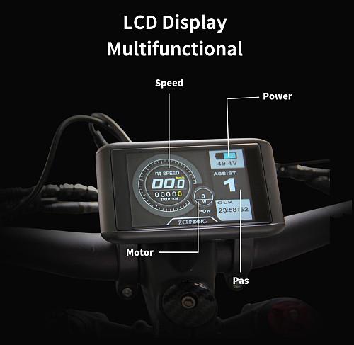 LCD color screen display