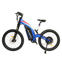 Ebike With Double Shoulder Big Front Fork MTB S17-1500W