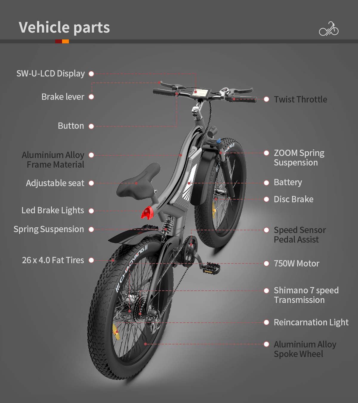 all terrain electric mountain bike