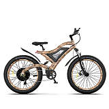 Snakeskin Grain 1500w Electric Mountain Bike S18