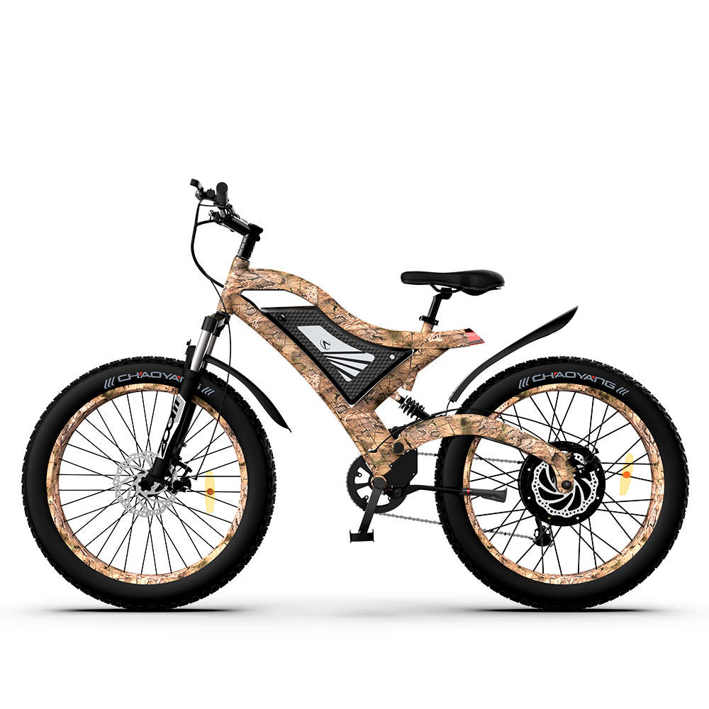 1500W Electric Bike Snakeskin Grain