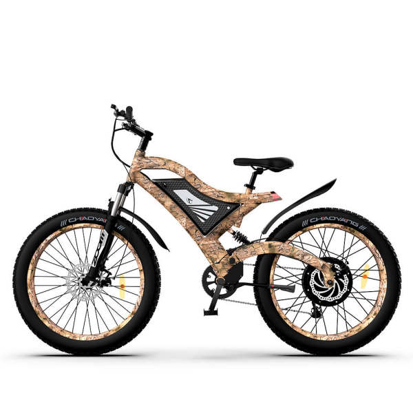 1500W Electric Bike Snakeskin Grain