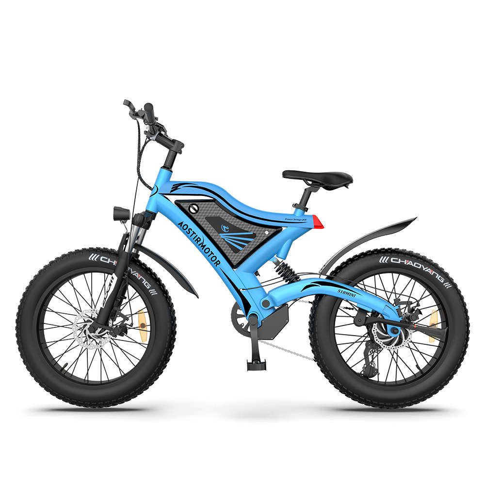AOSTIRMOTOR Mini Electric Bicycle S18-MINI