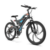 AOSTIRMOTOR Mountain Ebike Six Blade Integrated Wheel S05-1