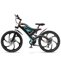 Electric Mountain Bike Six Blade Integrated Wheel S05-1