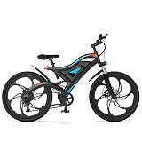 Electric Mountain Bike Six Blade Integrated Wheel S05-1