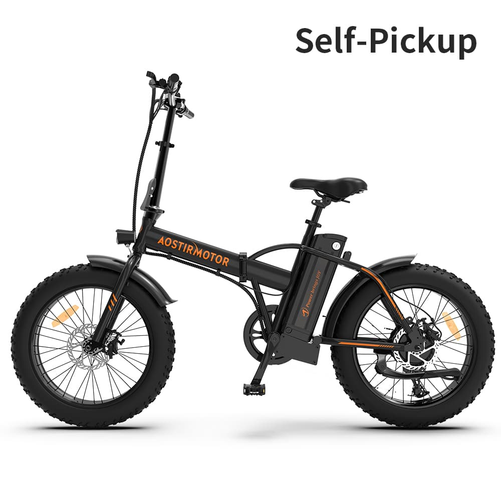 AOSTIRMOTOR Fat Tire Folding Electric Bike A20