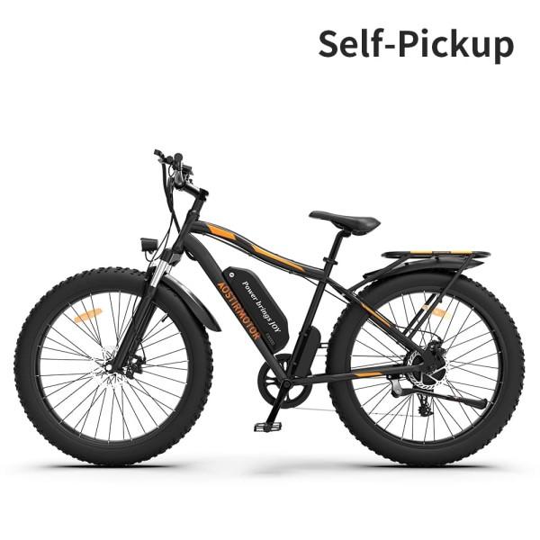 AOSTIRMOTOR Electric Mountain Bike S07-B
