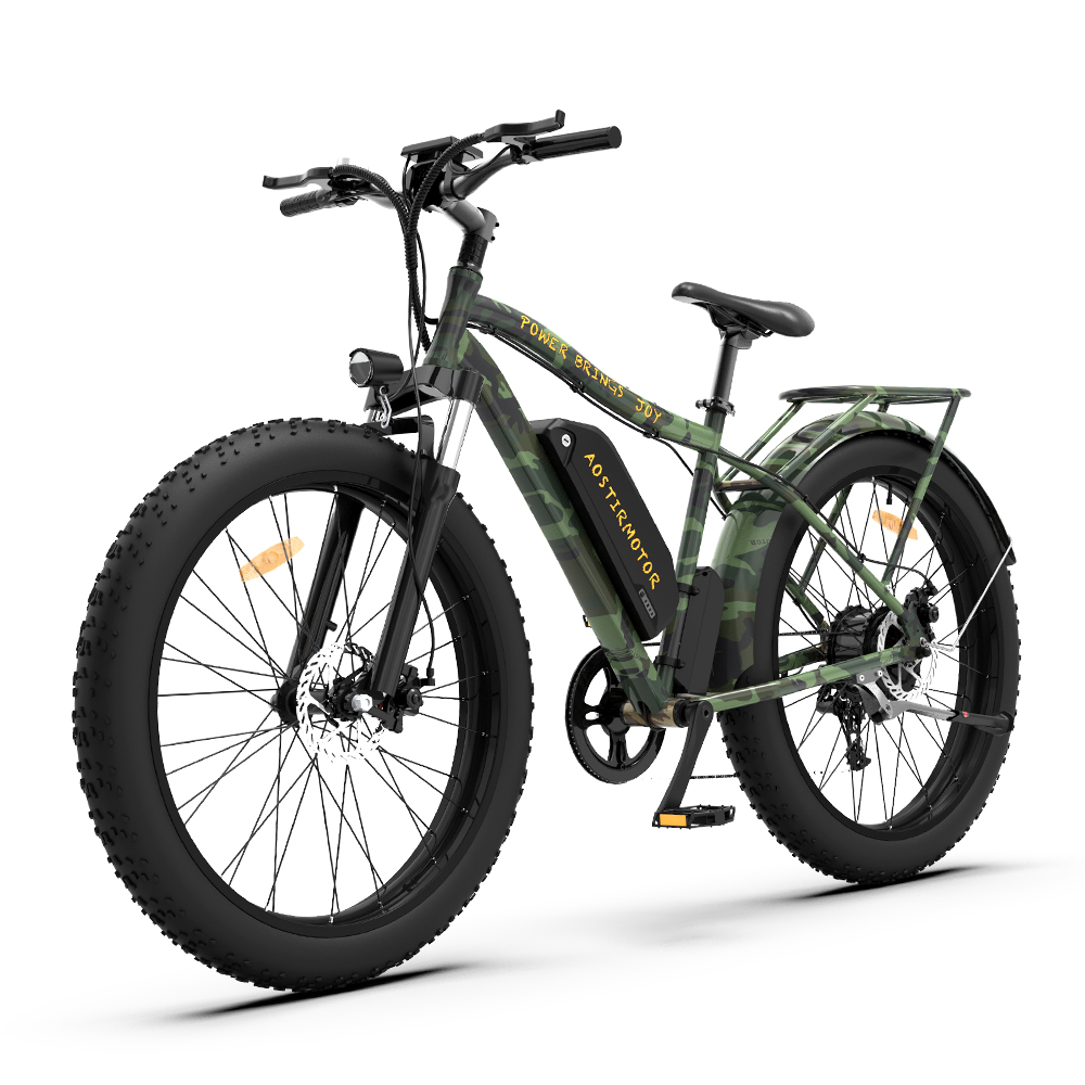 AOSTIRMOTOR Electric Mountain Bike S07-D