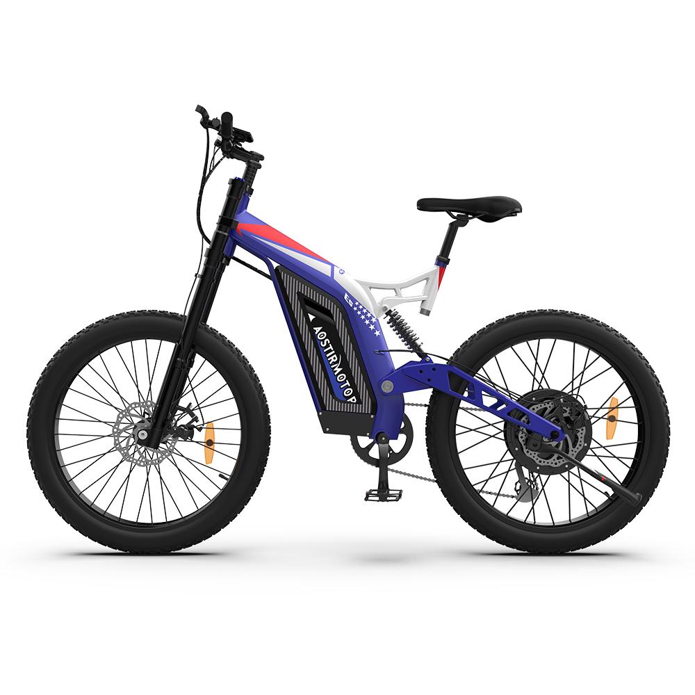 AOSTIRMOTOR Big Front Fork Electric Bike S17-1500W