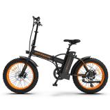AOSTIRMOTOR Fat Tire Folding Electric Bike A20