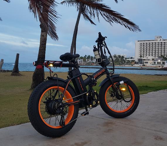 folding electric bike A20