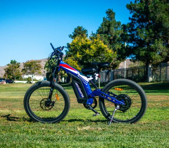 Big Front Fork Electric Bike S17-1500W