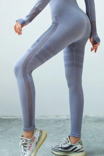 Bomshe Patchwork Purple Pants