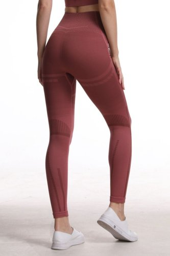 Bomshe Patchwork Red Pants
