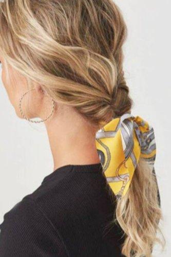 Bomshe Print Yellow Headband