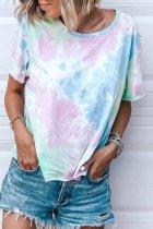 Bomshe Tie-dye Blue T-shirt